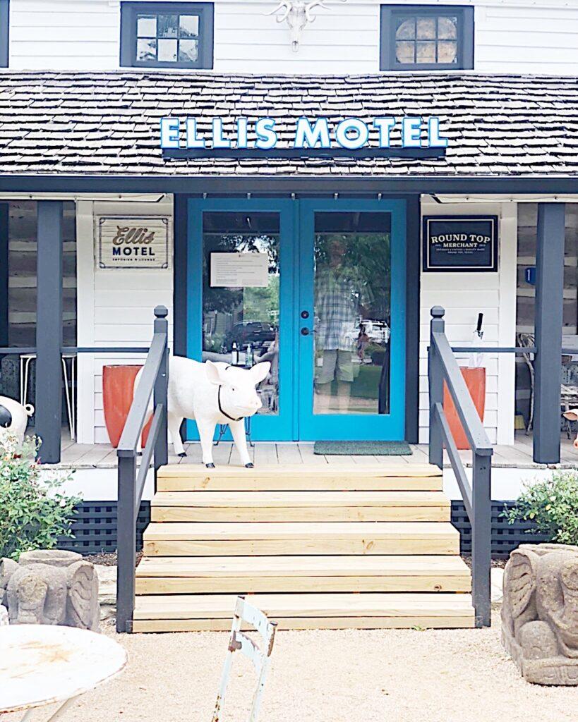 ellis motel round top