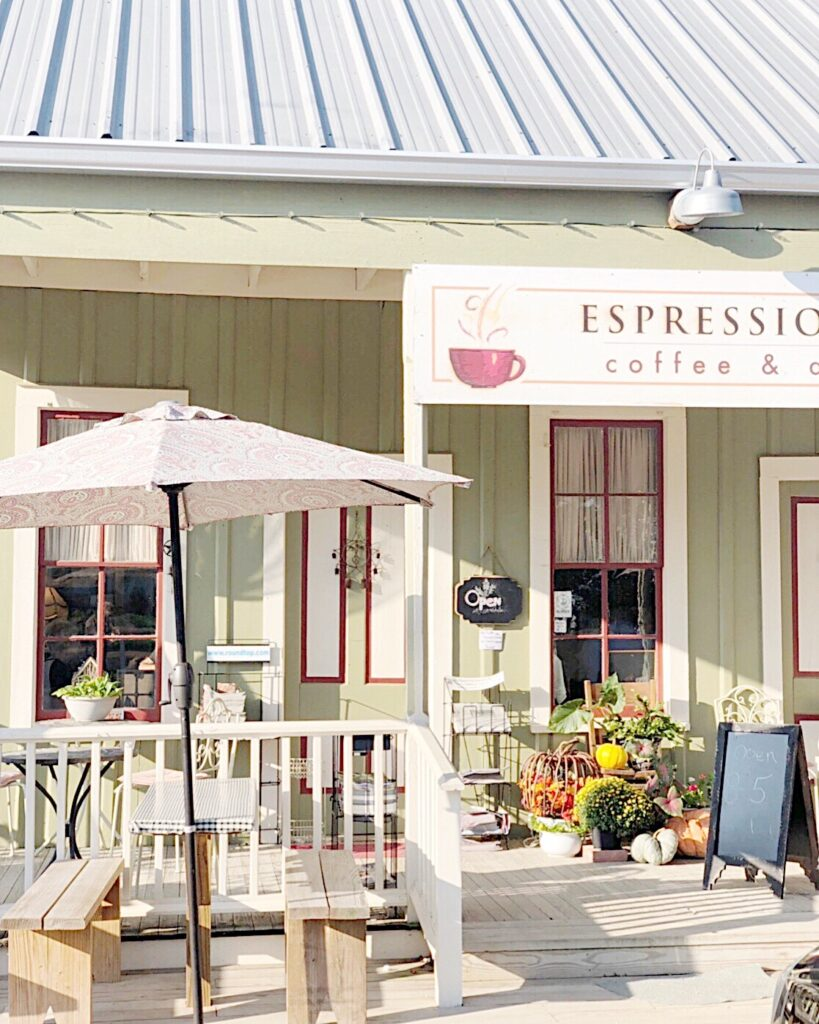 round top coffee
