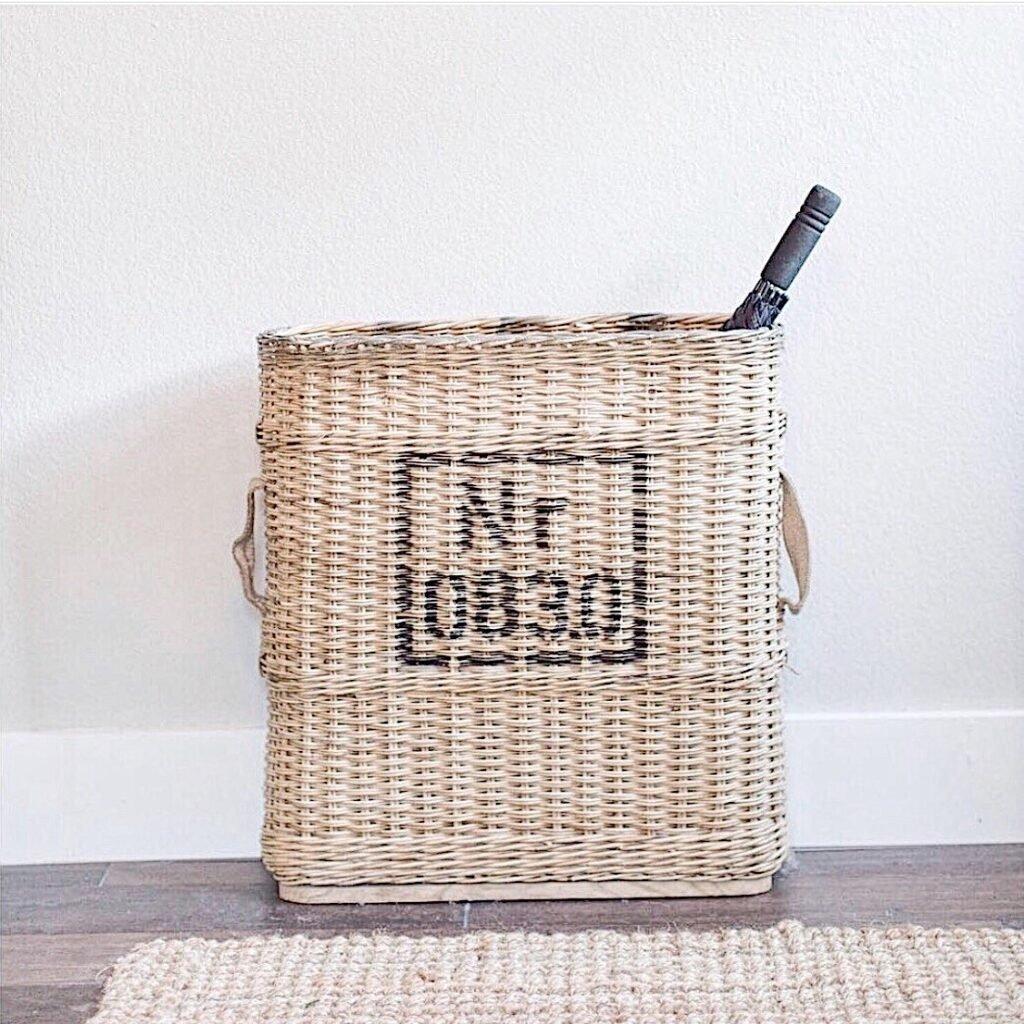 vintage artillery basket