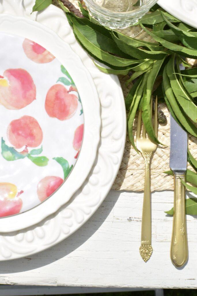 peach print plates