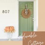 pinterest photo for adorable cottage makeover